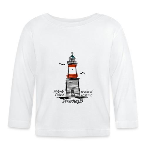 HARMAJA MAJAKKA Helsinki Boating Textiles, gifts - Vauvan pitkähihainen paita