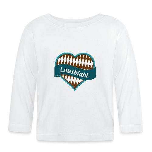 Lausbiabl im Trachtenlook - Baby Langarmshirt