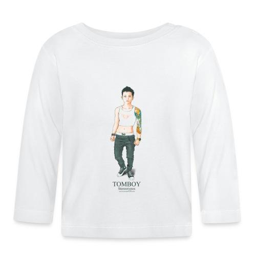 Tomboy. Stereotypes Collection. - Camiseta manga larga bebé
