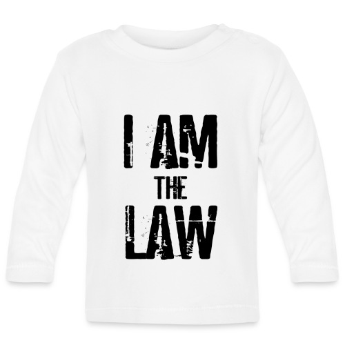 Mug I AM THE LAW. Tazza avvocato o giudice - Baby Long Sleeve T-Shirt