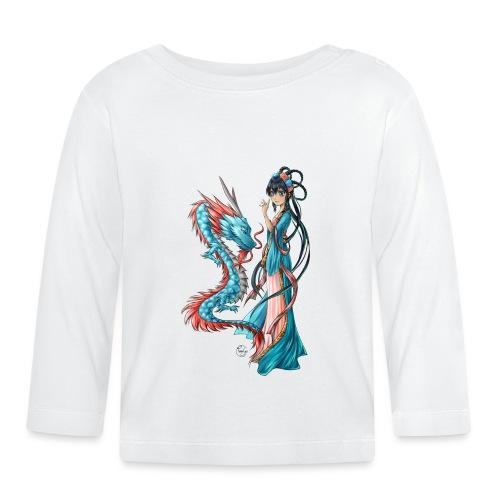 Blue Dragon - T-shirt manches longues Bébé