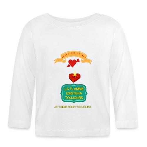 Cabas déclaration d'amour. - T-shirt manches longues Bébé