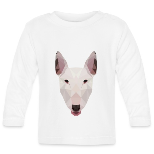 English Bull Terrier Artwork - Baby Long Sleeve T-Shirt