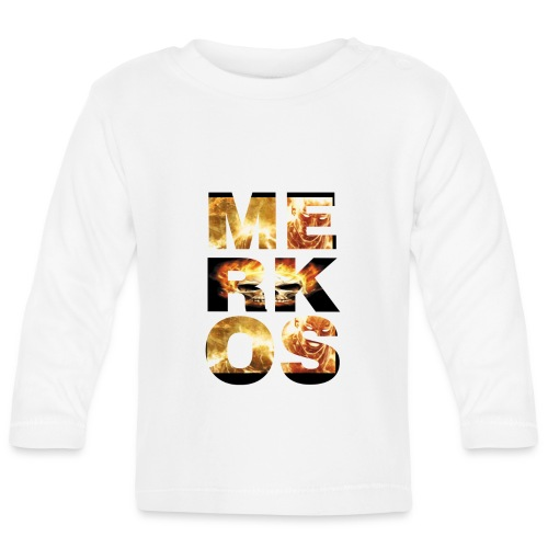 MERKOS FIRE DESIGN - Camiseta manga larga bebé