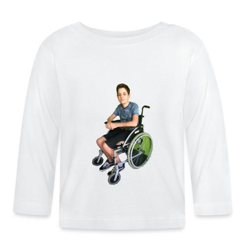 Michael Brown Rollstuhl (Version ein) - Baby Langarmshirt
