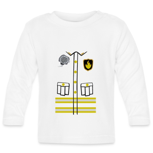 Firefighter Costume - Baby Long Sleeve T-Shirt