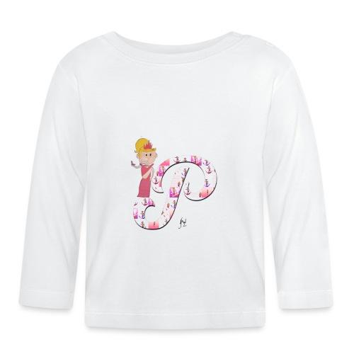 P comme Princesse - T-shirt manches longues Bébé