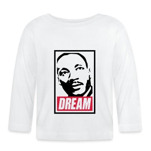 Obey x Dream MLK 2c_blanc - T-shirt manches longues Bébé