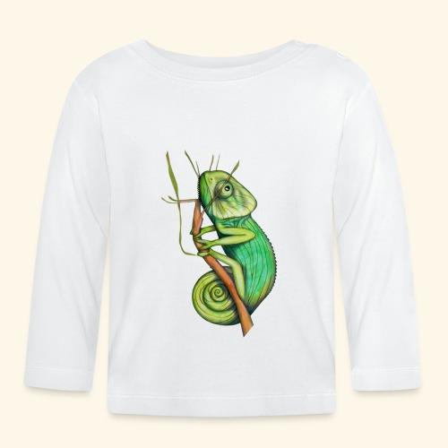 green chameleon - Maglietta a manica lunga per bambini