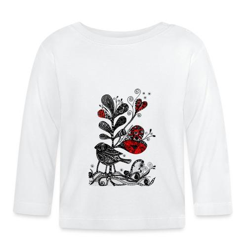 SVogerl mit Herz - Baby Langarmshirt