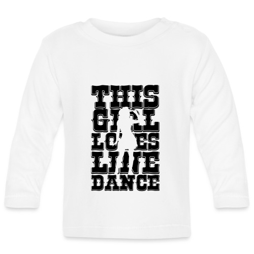 This girl loves line dance... - T-shirt