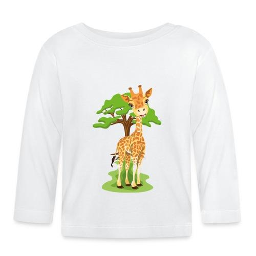 Giraff - Långärmad T-shirt baby