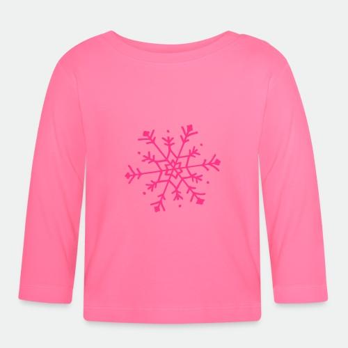 Cute snowflake - Baby Long Sleeve T-Shirt