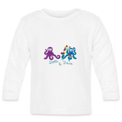 Kraken Liebespaar - Baby Langarmshirt