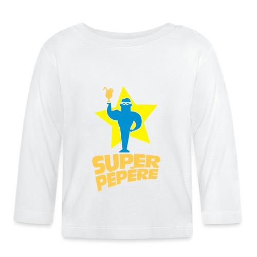 SUPER PÉPÈRE - T-shirt manches longues Bébé
