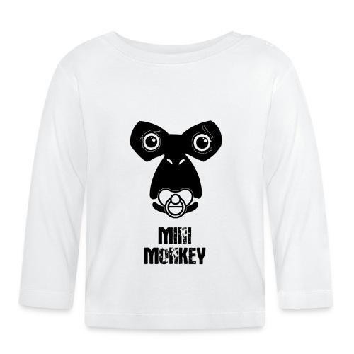 Monkey Fly - Monkey - Baby - Baby Langarmshirt