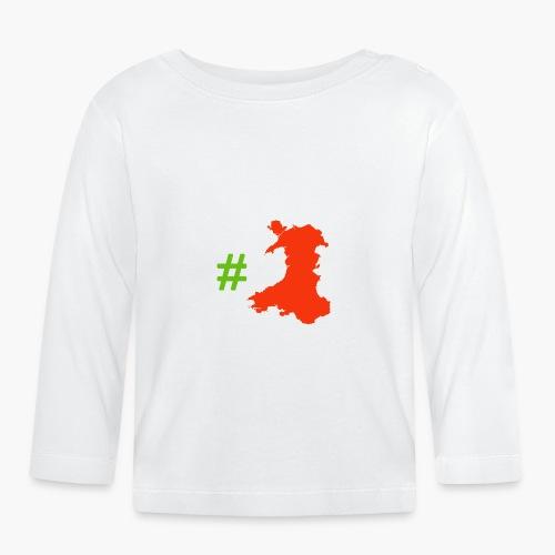 Hashtag Wales - Baby Long Sleeve T-Shirt
