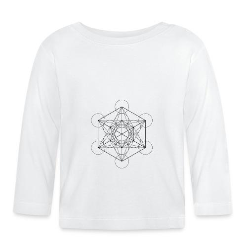 Metatrones Cube - Langærmet babyshirt