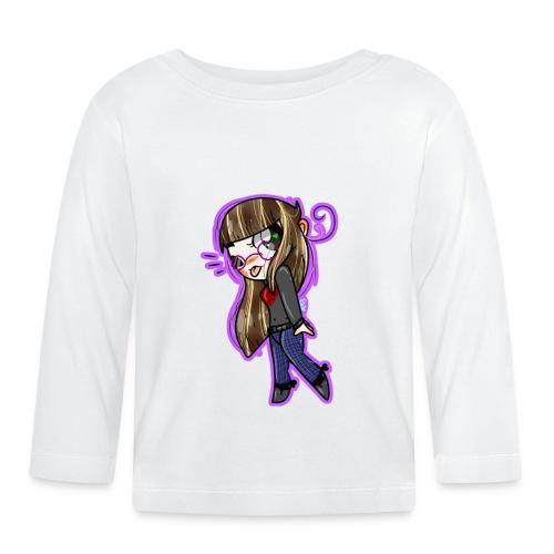 viola - Maglietta a manica lunga per bambini