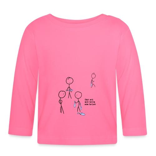 har sei png - Langarmet baby-T-skjorte