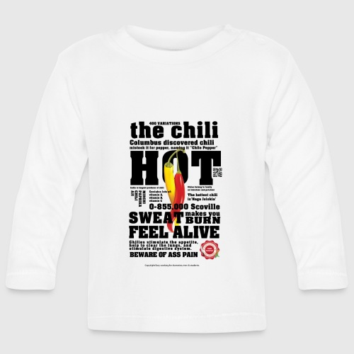 chili - Langærmet babyshirt