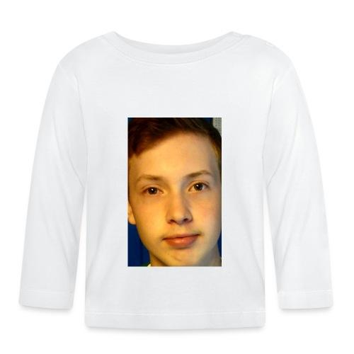 Aron Deksel 6/6s - Langarmet baby-T-skjorte