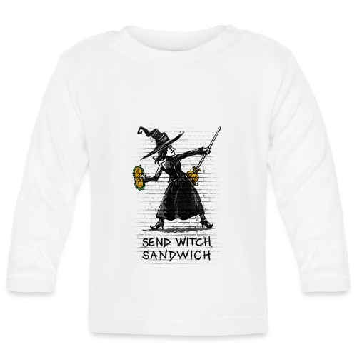 Send Witch Sandwich - Baby Long Sleeve T-Shirt