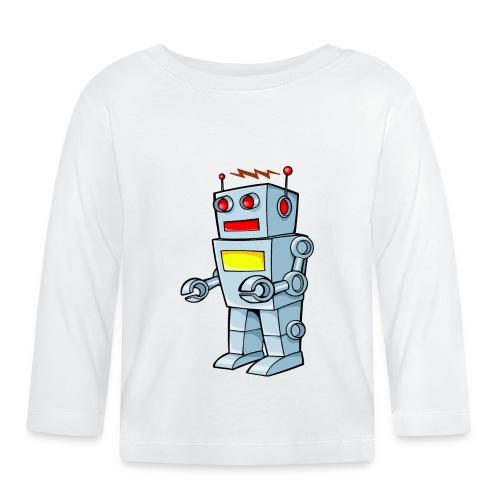 Robot - Maglietta a manica lunga per bambini