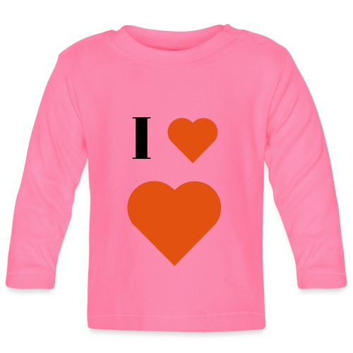I Heart heart - Baby Long Sleeve T-Shirt