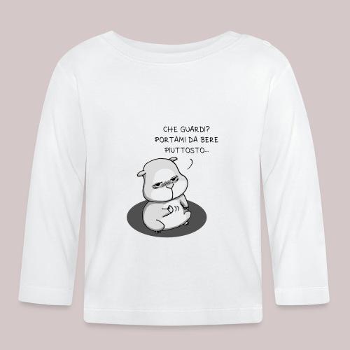 drunk_Hamster - Maglietta a manica lunga per bambini