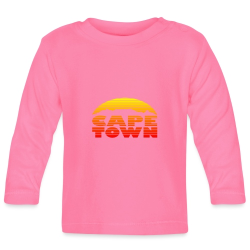 TableMountain-Sunset - Baby Langarmshirt