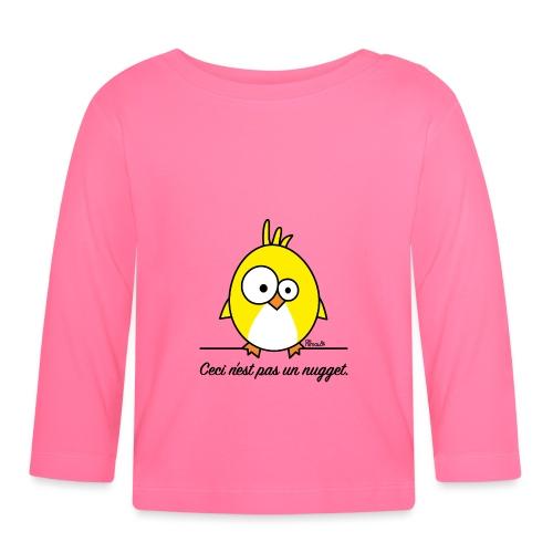 Poussin, Ceci n'est pas un Nugget - T-shirt manches longues Bébé
