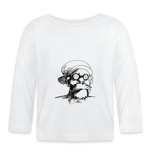 Santa Sketch - Baby Long Sleeve T-Shirt