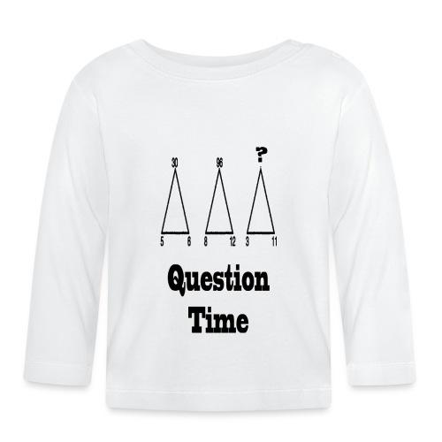 1 - Maglietta a manica lunga per bambini