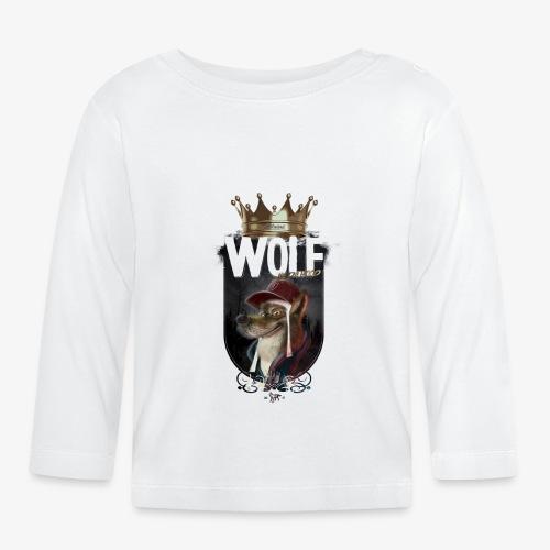 wolf - Camiseta manga larga bebé