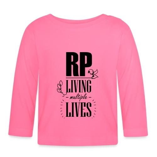 Role play - Living multiple lives - Langærmet babyshirt