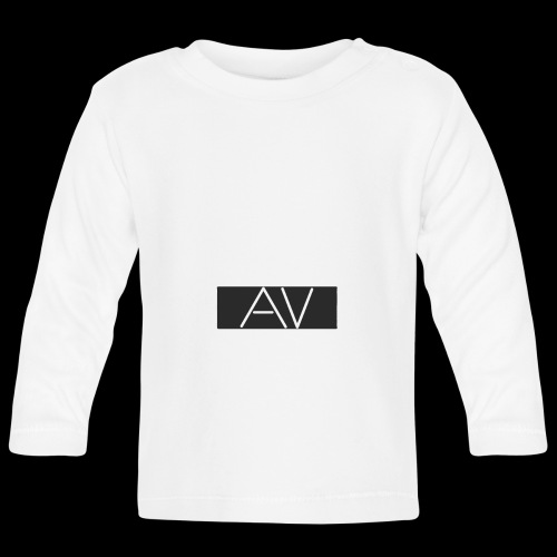 AV White - Baby Long Sleeve T-Shirt