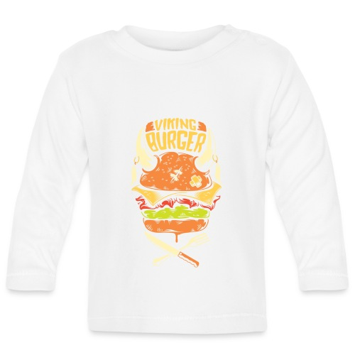 viking burger - Baby Long Sleeve T-Shirt