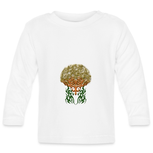 Golden Brain - Baby Langarmshirt