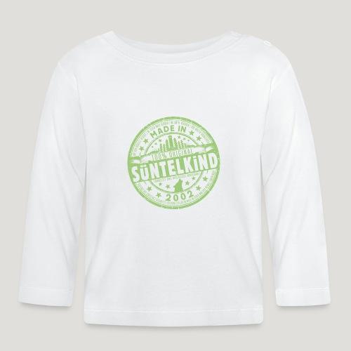 SÜNTELKIND 2002 - Das Süntel Shirt mit Süntelturm - Baby Langarmshirt