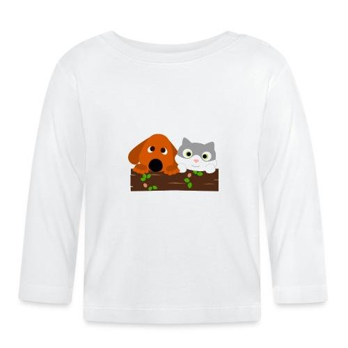 Hund & Katz - Baby Langarmshirt