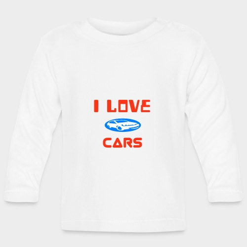 I Love cars - Baby Long Sleeve T-Shirt