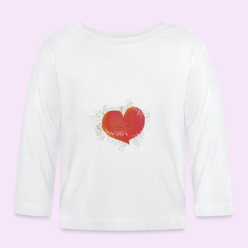 Blozend hartje kinder baby shirt - T-shirt