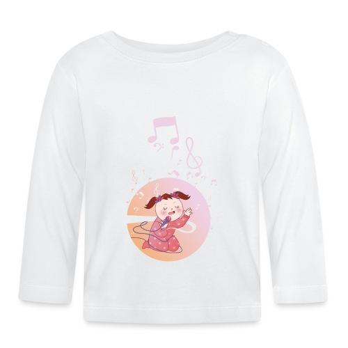Witzige süße Umstandsmode T-Shirt mit Motiv - Baby Langarmshirt