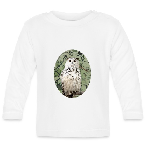 Snowy Owl Magical Hedwig Gift - Baby Long Sleeve T-Shirt