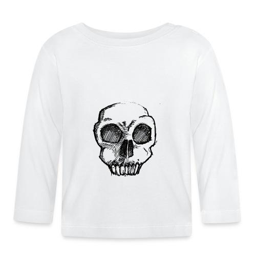 Skull sketch - Baby Long Sleeve T-Shirt