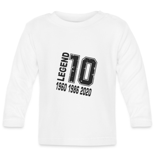 Legend 10 - Camiseta manga larga bebé