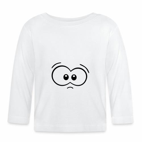 Gesicht ohne Mund - Baby Langarmshirt
