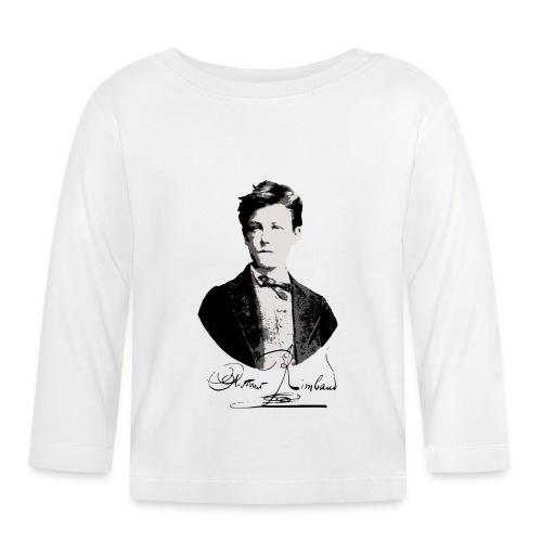 Rimbaud+signature.png - T-shirt manches longues Bébé