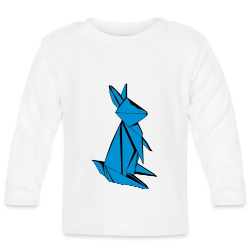 Origami Bunny - Baby Long Sleeve T-Shirt
